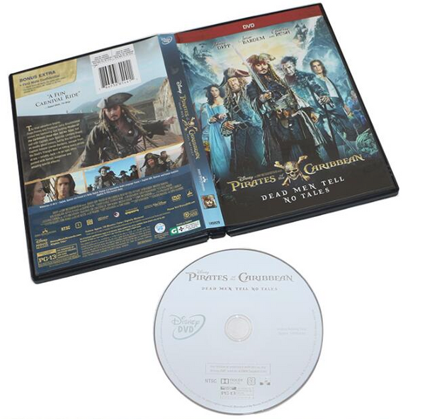 Pirates Of The Caribbean: Dead Men Tell No Tales 1-DVD Region 1 New Release 2017 DVD Johnny Depp, Javier Bardem, Espen Sandberg Joachim R-nning