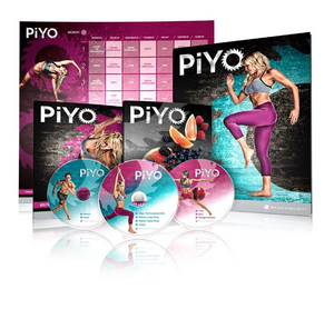 PiYo 5 DVDs Workout with Exercise Videos Beachbody By Chalene Johnson + Fitness Tools and Nutrition Guide 5-Set DVD Region 1 New Release 2017