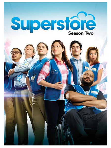 Superstore: Season 2 (Two) 3-Set DVD Region 1 New Release 2017 America Ferrera, Ben Feldman, Todd Biermann