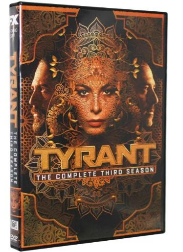 Tyrant: The Complete Season 3 DVD Adam Rayner, Jennifer Finnigan 3-Set DVD Region 1 New Release 2017