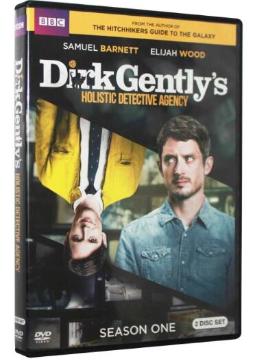 Dirk Gently's Holistic Detective Agency Season 1 New 2017 Release  3-Set DVD Region 1