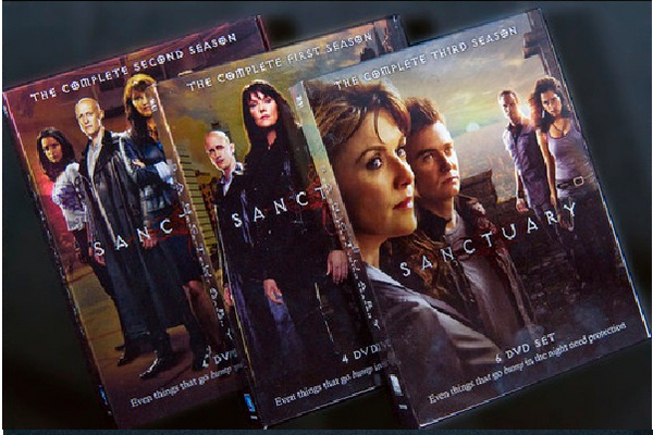Sanctuary - Season 3 Release 2017 New 6-Set DVD Region 1