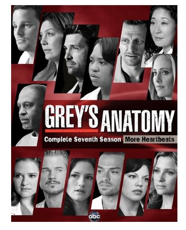 Grey's Anatomy - Season 7 Release 2017 New 6-Set DVD Region 1