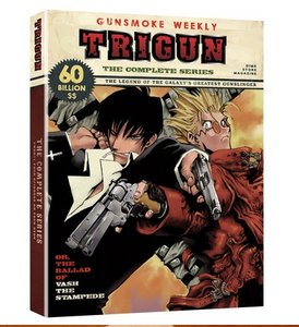 Trigun - The Complete Series Release 2017 New 4-Set DVD Region 1