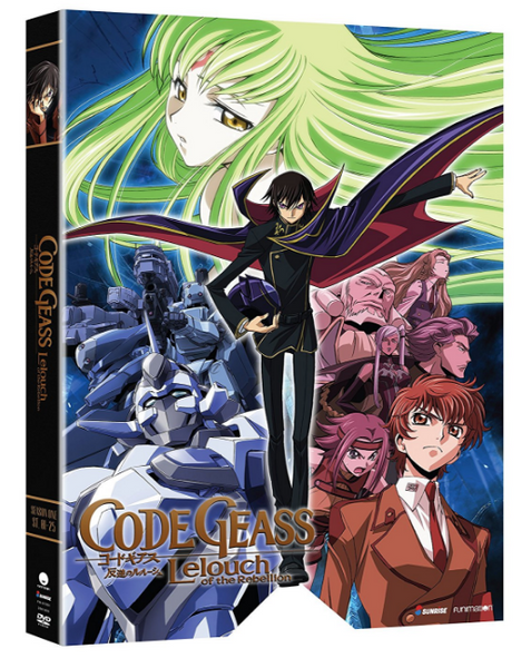 Code Geass - Lelouch of the Rebellion - season 1 Release 2017 New 6-Set DVD Region 1
