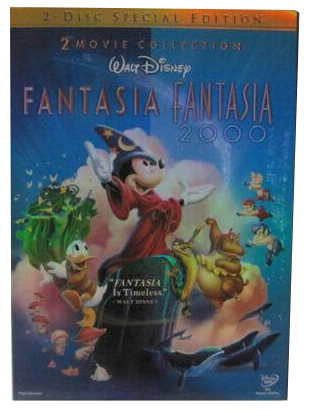 Fantasia & Fantasia 2000 Special Edition New 2017 Release 2-Set DVD Region 1