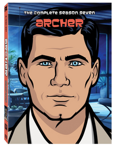 Archer - Season 7 Release 2017 New 3-Set DVD Region 1