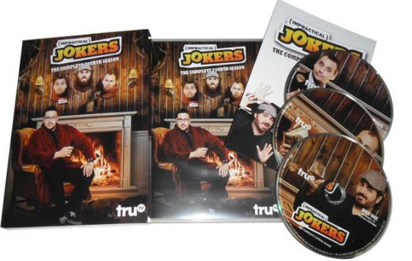 Impractical Jokers - Season 4 New 2017 Release 3-Set DVD Region 1
