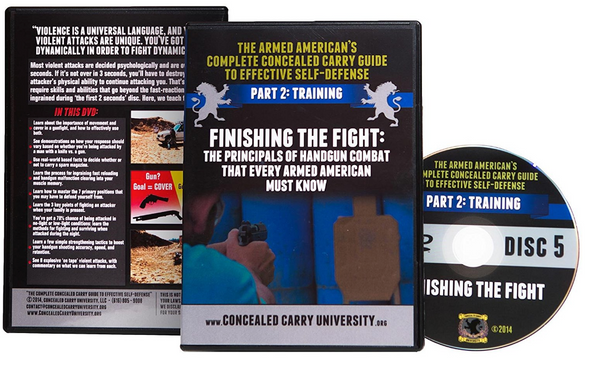 The Armed American's Complete Concealed Carry Guide to Effective Self-Defense New 2017 Release 7-Set DVD Region 1