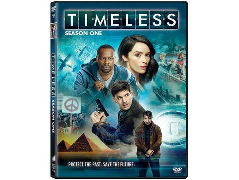 Timeless TV Show Timeless Season One Cast 4-Disc Set NBC | Timeless - Season 1 Protect The Past Save The Future