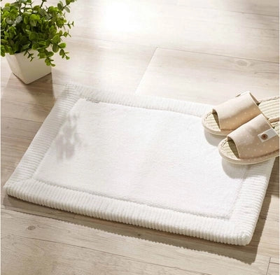 Charming ... Shower Area Rugs Quick Drying Mat For Your Bathroom Thick Coral Velvet  Super Absorbent By LUD ...