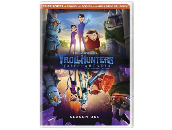 Trollhunters - Season One DVD 3-Set DVD Region 1 New Release 2017