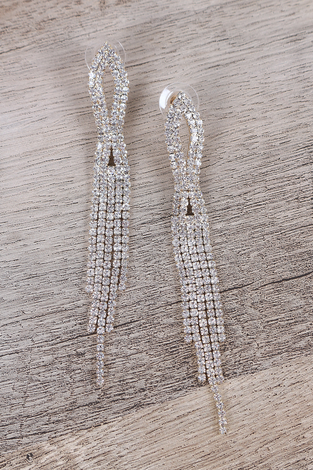 Tassel Earrings For Women By Qupid | Shop Women's Fashion Lovely Stylish Fashionable Rhinestone Drop Tassel Earrings