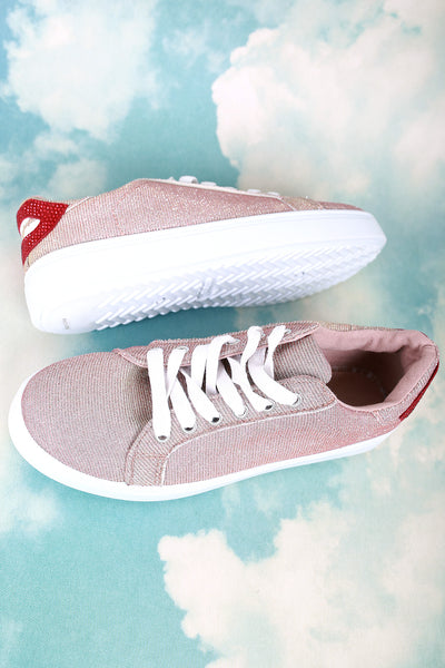 Fashion Sneakers For Women By Bamboo | Women Fashion Sneaker Sporty Lace-up Sneaker