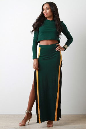 Tracksuit Two Piece Hoodie Dress