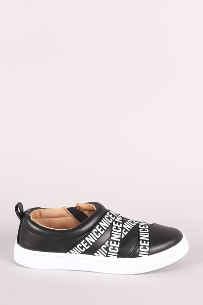 Vegan Leather Sneakers For Women By LUD | Shop Women's Fashion Nice Style Round Toe Strappy Ribbon Vegan Leather Sneakers