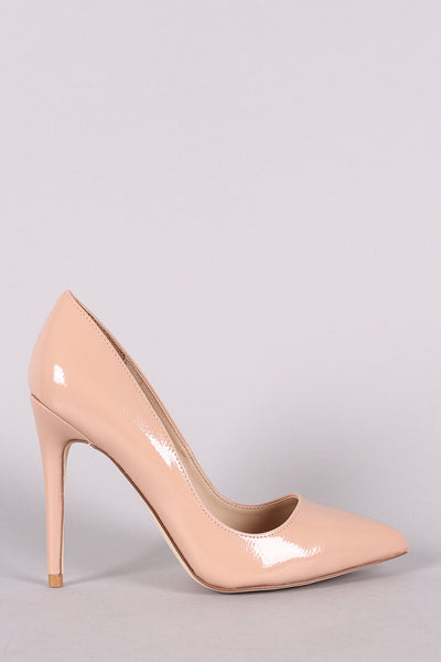 Wrapped Stiletto Heel For Women By Anne Michelle | Women Fashion Patent Pointy Toe Stiletto Pump High Hill For Women