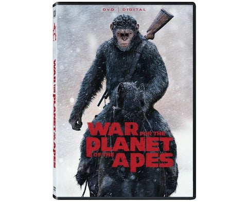 War For The Planet Of The Apes 1-DVD Region 1 New Release 2017