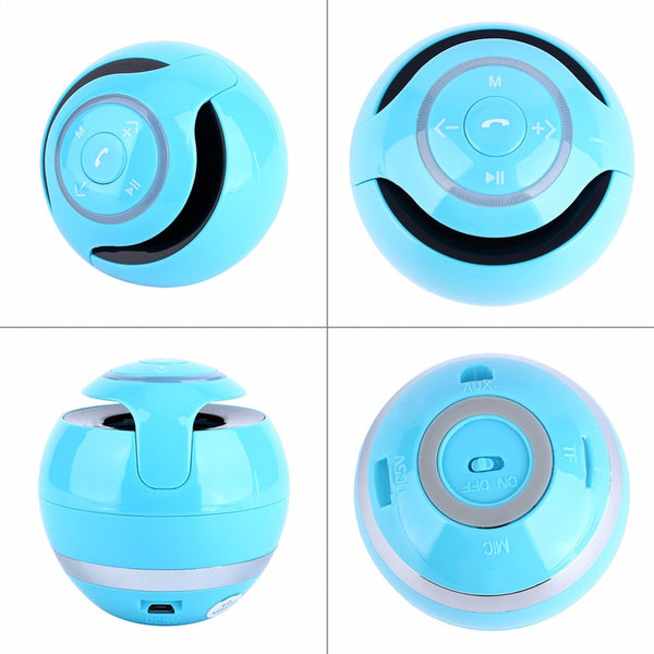 Wireless Bluetooth Speaker Portable | FM Radio Magic Ball Speakers With Small Night Stand Lights