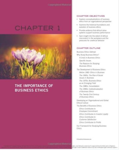 Business Ethics:Ethical Decision Making & Cases by Ferrell, O. C. Ferrell 11th Edition - 978-1305500846