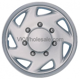 "Chrome ABS 16"" Hub Cap Wheel Cover KT 317 S - 4 PC Set"