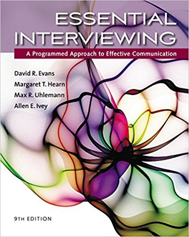 Essential Interviewing A Programmed Approach to Effective Communication 9th edition Paperback - 9781305271500