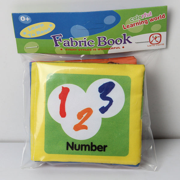 Fabric Books For Babies - Soft First Baby Fabric Book With Pictures - First Infant Crinkle Book  Multi - Color (No Sound)