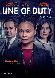 Line Of Duty Series 4 DVD Region 1 USA 2 Disc DVD | Thandie Newton Lee Ingleby Jed Mercurio