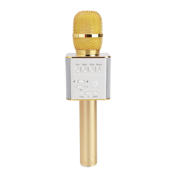 Wireless Mic Phone | Magic Q9 Wireless Microphone For Karaoke Portable Bluetooth Handheld