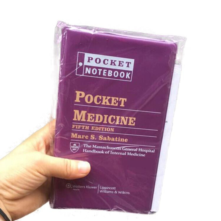 Pocket Medicine (Fifth Edition) by Marc S. Sabatine (Textbook ONLY, Paperback) The Massachusetts General Hospital Handbook of Internal Medicine - 9781451193787