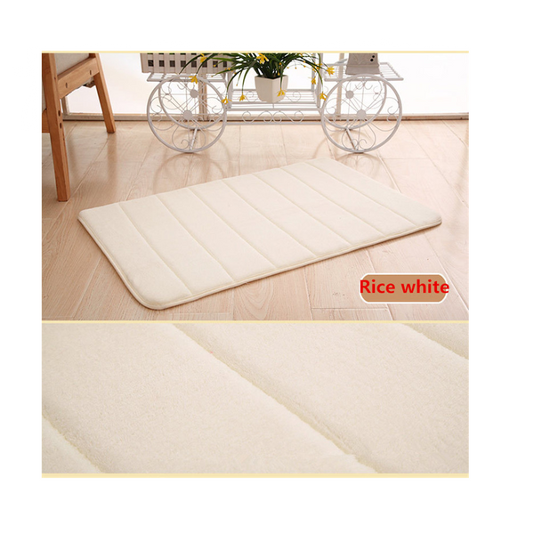 Bath Rugs For Bathroom Non slip By BEF | Bath Mat Microfiber Machine Washable Soft & Shaggy Enjoy Complete Bathroom Makeover