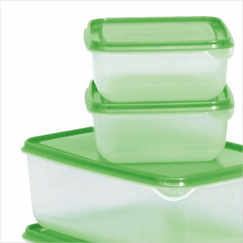 Plastic Food Storage Box Sealed Crisper Refrigerator Preservation Box Container Kitchen Sorting Grains Tank Supplies 17pcs/set