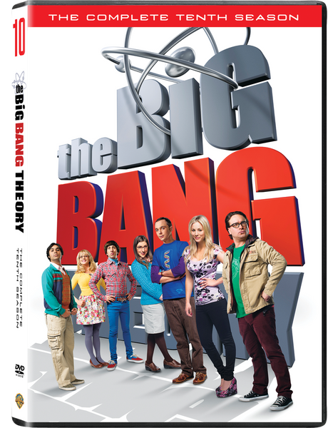 Big Bang Theory - Complete Series Season 10 | The Big Bang Theory DVD 2-Set DVD Collection