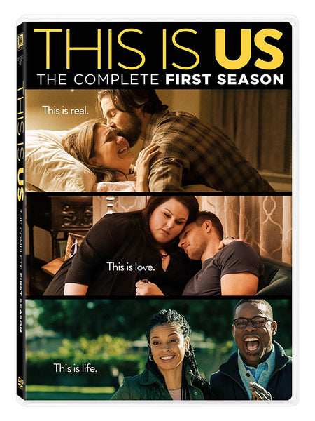 This Is Us Season 1 DVD The Complete First Season | Milo Ventimiglia Justin Hartley