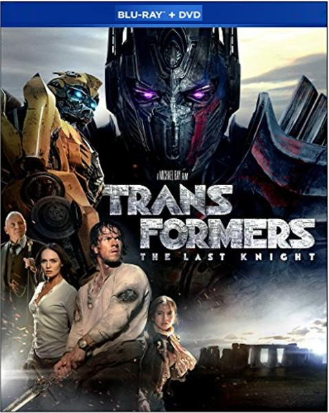 TRANSFORMERS - The Last Knight BLU-RAY + DVD New Sealed 3-Set DVD 2017