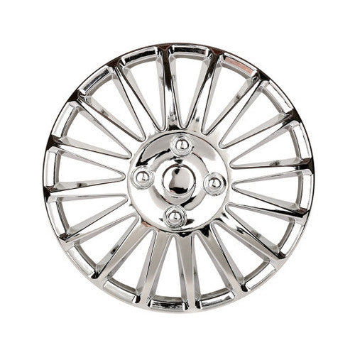Hub Caps Vehicle Chrome Wheel Rim Skin Cover Hub Caps Wheel cover 12 inch Tire/Wheel/Hubcap Car Styling 12 Inch Car - 4 PCS