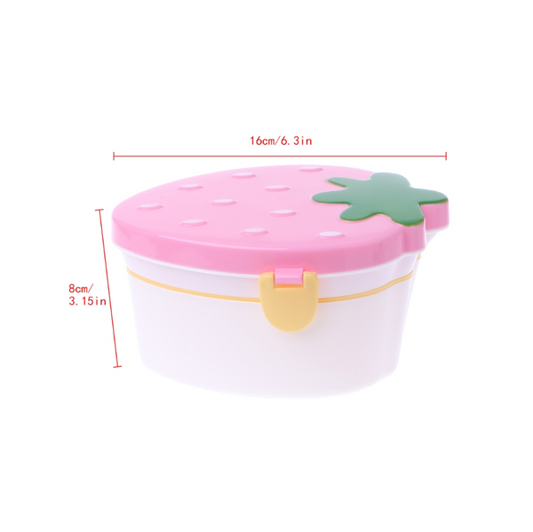Kids Lunch Box By Bento | Food Container  With Lid For Kids Meal Prep Food Fruit Storage Container Portable Lunch Box Anti Leakage School Lunch Container