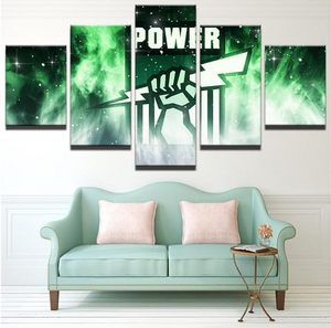 5 Piece Port Adelaide Framed Canvas Print