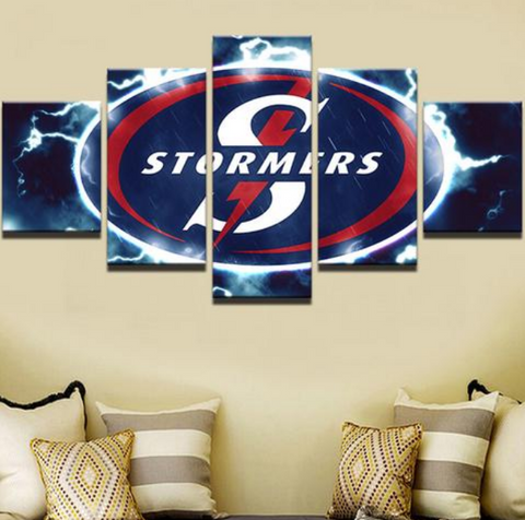 5 Piece Stormers Canvas Print