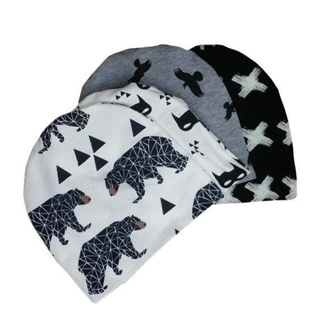 Baby Printed Hats