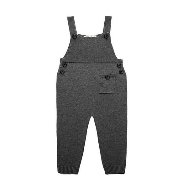 Girl Knitted Overall