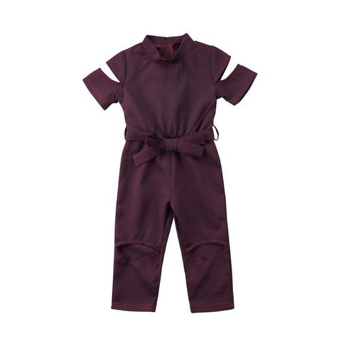 Masha Short Sleeve Jumpsuit