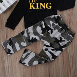 Lil' King Camo Clothing Set