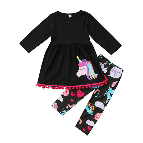 Unicorn Tassel Dress + Pants