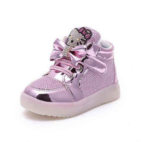 Luminous Hello Kitty Sneakers