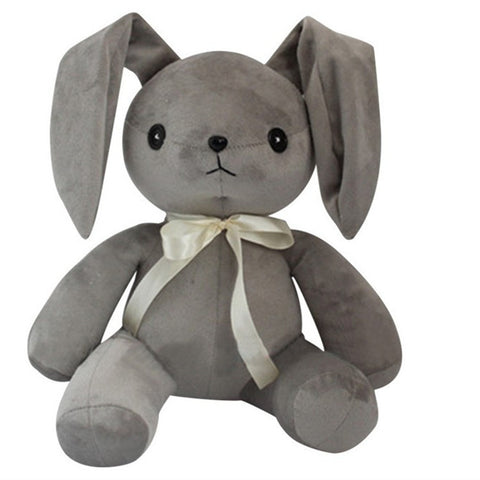 Grey Stuffed Rabbit