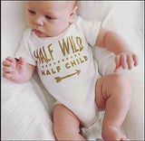 Half Wild Half Child Bodysuit
