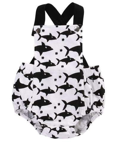 Little Shark Playsuit