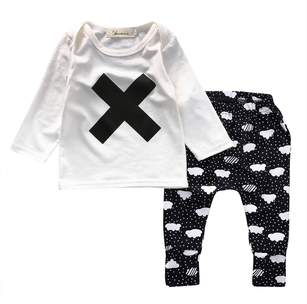 X And Clouds Clothing Set