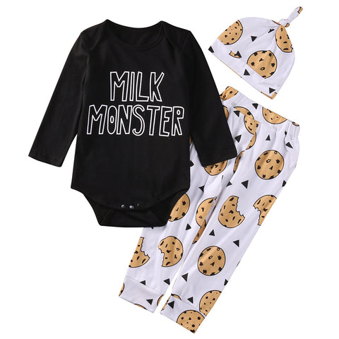 Milk Monster Clothing Set